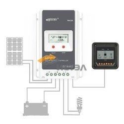 Контроллер заряда EPsolar Tracer 3210AN MPPT