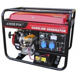 Бензиновый генератор АМПЕРОС LT 7500CLE-3