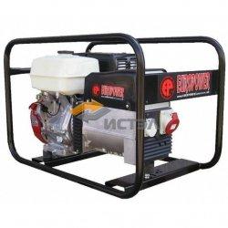 Бензиновый генератор 5.5 кВт EUROPOWER EP6500T