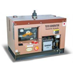Дизельный генератор TOYO TKV-14TPC (Япония) в декоративном кожухе