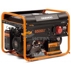 Бензиновый генератор DAEWOO GDA 7500DPE-3 (двухрежимный 380/220В)