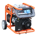 Бензогенератор 5 кВт Zongshen KB 6000 E