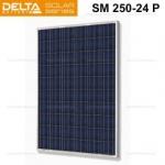 Солнечная панель (модуль) Delta SM 250-24 P (24В / 250Вт)