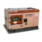 Дизельный генератор TOYO TKV-7.5SBS (Япония) в шумозащитном кожухе