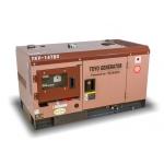 Дизельный генератор TOYO TKV-14TBS (Япония) в шумозащитном кожухе