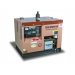Дизельный генератор TOYO TKV-7.5SPC (Япония) в декоративном кожухе