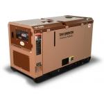 Дизельный генератор TOYO TG-14SBS (Япония) в шумозащитном кожухе