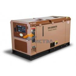 Дизельный генератор TOYO TG-12SBS (Япония) в шумозащитном кожухе