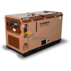 Дизельный генератор TOYO TG-19TBS (Япония) в шумозащитном кожухе