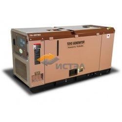 Дизельный генератор TOYO TG-28TBS (Япония) в шумозащитном кожухе