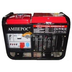 Дизельный генератор АМПЕРОС LDG12-3E