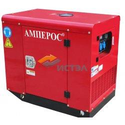 Дизельный генератор АМПЕРОС LDG12-3LS