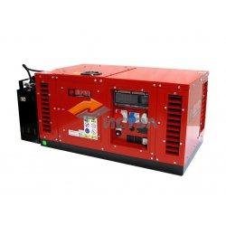 Бензиновый генератор в шумозащитном кожухе 10 кВт EUROPOWER EPS12000TE