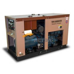 Дизельный генератор TOYO TG-40TPC (Япония) в декоративном кожухе