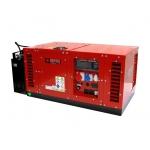 Бензиновый генератор в шумозащитном кожухе 12 кВт EUROPOWER EPS15000TE