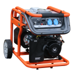 Бензогенератор 2.5 кВт Zongshen KB 3000