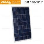 Солнечная панель (модуль) Delta SM 100-12 P (12В / 100Вт)